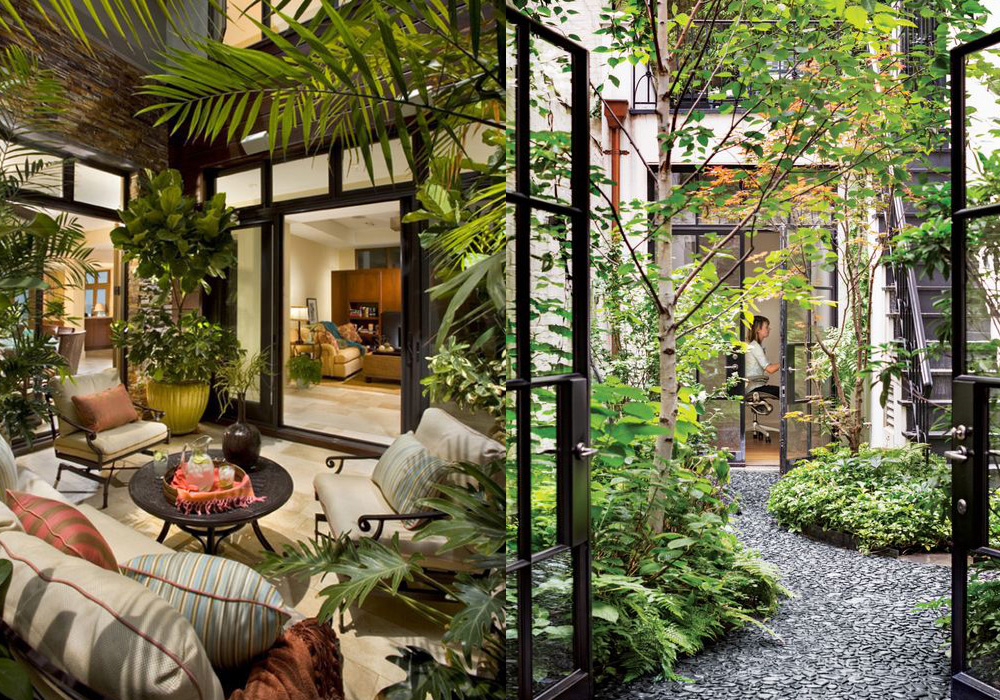 11 ideas ganadoras para decorar el patio de tu casa el for Ideas para decorar patios muy pequenos